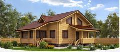 Fellings wooden construction