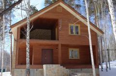 Дома деревянные. Каркасное строительство.