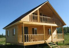 Houses from bar