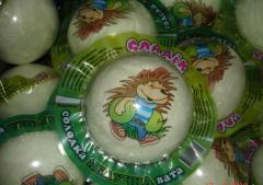 Sweets for children, classical cotton candy