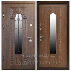 Входные двери ПК-139 (КОВКА) Украина МДФ/МДФ