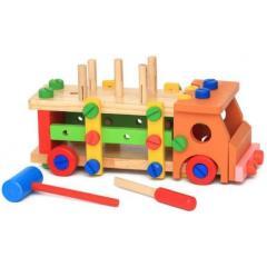 Деревянный конструктор для детей Автомобиль...