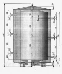 Теплоаккумулятор (Емкость на 1,5 м.куб)