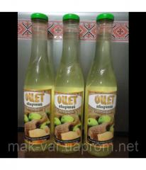 Уксус яблочный с медом 3%, 0,33 л