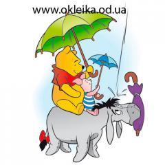 Children's vinyl stickers Winnie-the-Pooh