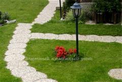Дорожки садовые из гальки | купить, заказать в
