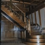 """Лестницы деревянные """"Прямые"""""""