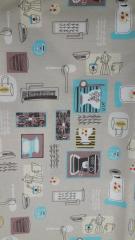 Ткань скатертная плотная ш.150