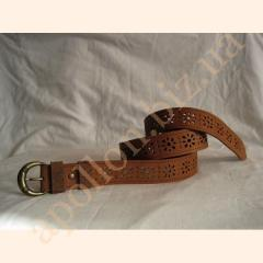 Belts are female. ROZHEVY BELT HANDWORK RUNNER