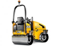 Tandem vibration skating rinks of JCB VMT 260