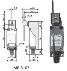 Выключатель концевой АсКО МЕ 8107