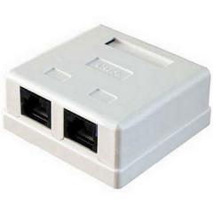 Коробка (KDCA-28 8p8c) 2-кратная под RG45-5E