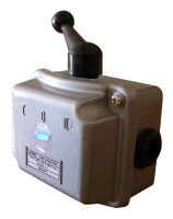 Рубильник 15А ( АсКО QS5-15P/3) 1-0-2 в корпусе