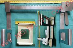 Ранорасширитель-ретрактор, реечный, 250 мм