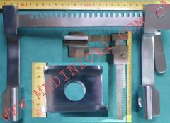 Ранорасширитель-ретрактор 167 мм реечный с