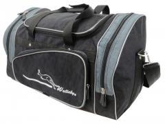 Спортивная сумка Wallaby, Украина 271-5 черная с