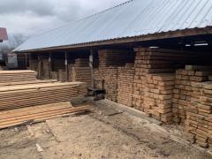 Брус деревянный 60х80 мм ( сосна )