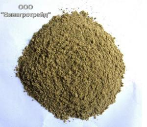 Production and sale of fish meal (protein of