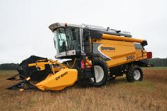 Combine harvesters under the order on credit,