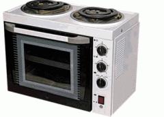 Электроплита 2-х конфорочная с жарочным шкафом