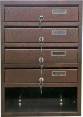 Багатосекційний поштовий ящик с4