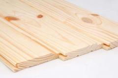 Lining (imitation of bar), pine 23kh140kh4,5m
