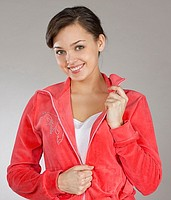 Jacket with snake red, the Code: A51.2