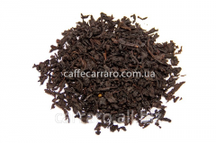 The black scented tea with extract of sausep
