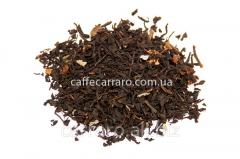 Krupnolistova black tea from Ceylon and China with