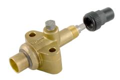 Compressor stop valve