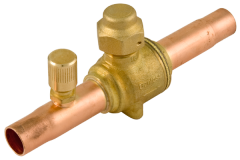 Stop valve; receiver