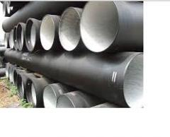 Pipe VChShG of Du 100-1000 and shaped parts to i