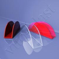 Napkin holders are plastic
