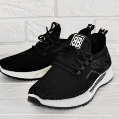Спортивные мужские кроссовки черные с 40-45 р.