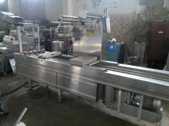 Automatic MULTIVAC R 230 packaging transfer line
