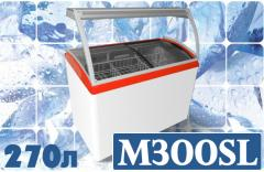 Freezing show-window for weight M300SL ice cream