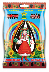Sunflower sunflower seeds fried Elite 77,7 gsemechka very large, caliber 4,8.
