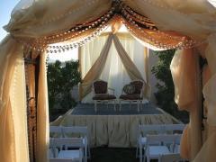 Подвески из бусин для декорирования свадеб