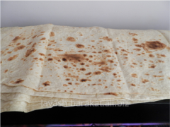 Unleavened wheat cake