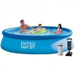 Надувний басейн Intex 28142 - 3, 396 х 84 см (2