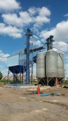 Бункер БВ-40 для зерносушительного комплекса