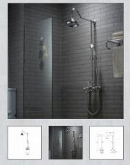 Shower system Kraus, Apollo KEF-16055CH
