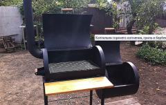 Smoking sheds Smoker-gril