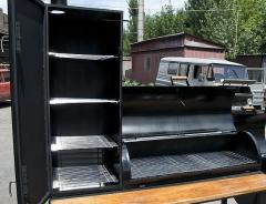 To buy the smoking shed of cold smoking, a grill