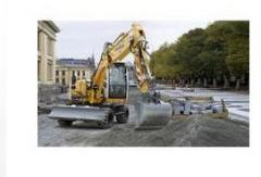 Compact Liebherr A 311 Litronic excavator,