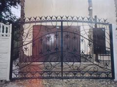 Ворота распашные, купить Украина
