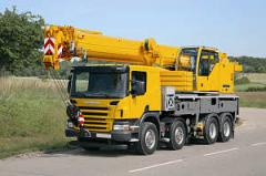 LTF telescopic building cranes of Liebherr