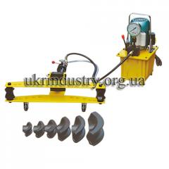 Pipe bender hydraulic electrically driven
