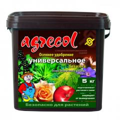 Удобрение универсальное осеннее Agrecol 5 кг