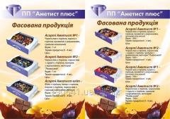 Fruit candies of Allsorts
